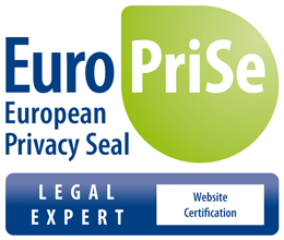 EuroPriSe Legal Expert - Website Certification